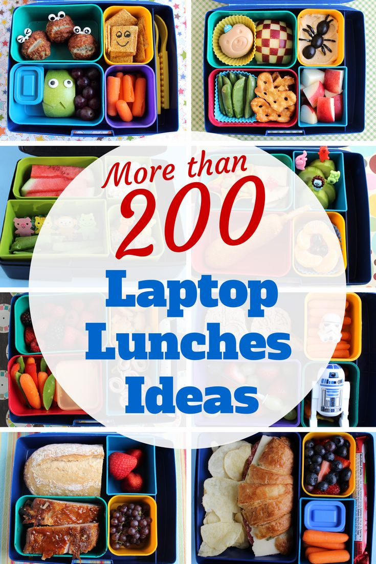 Do you have a Laptop Lunches box? Here are more than 200 ideas to help you fill it!