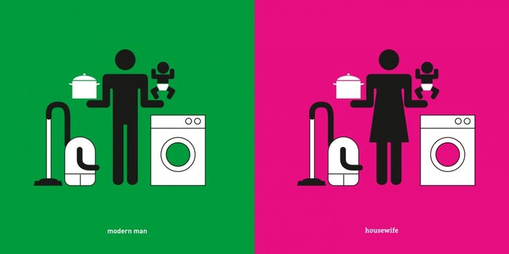 Man Meets Woman: Minimalist Pictogram Commentary on Gender Norms | Brain Pickings