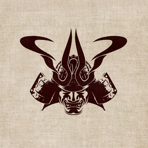 Samurai Kamon - Symbol & Merch Design by T o K, via Behance