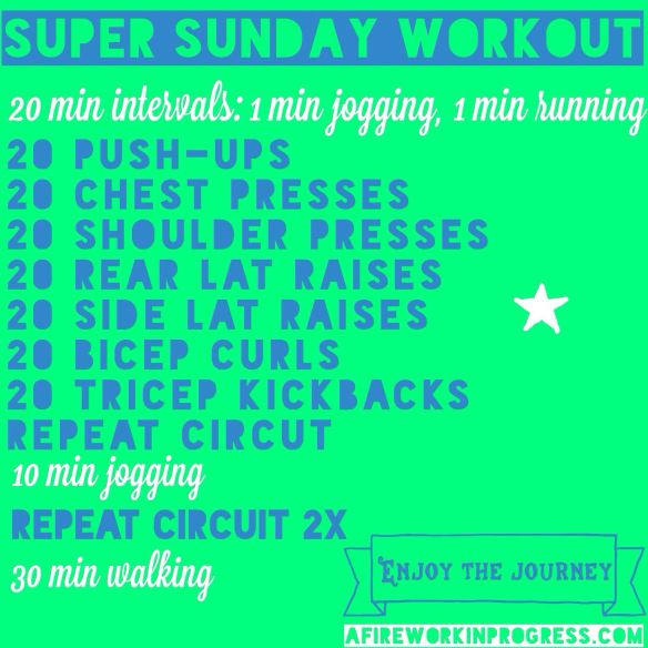 how to set up an exercise circuit