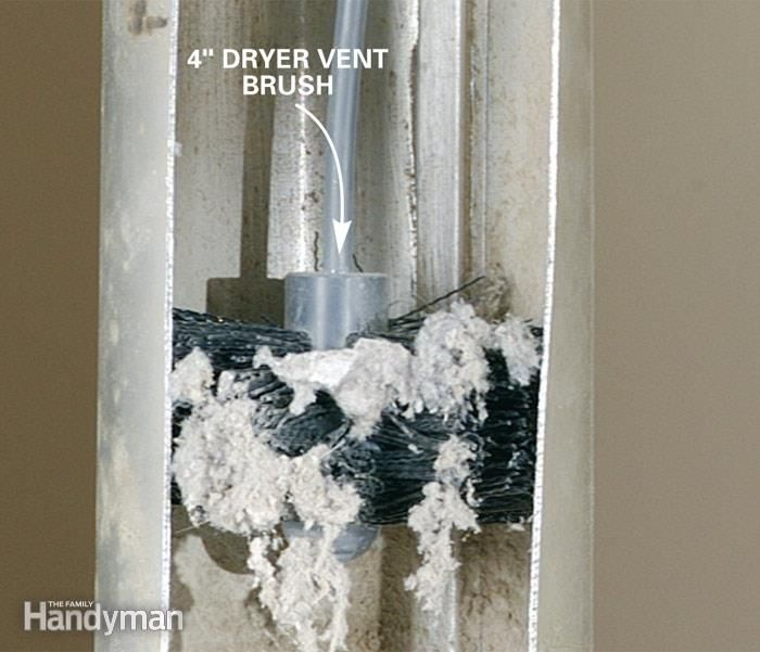 Remove Dryer Lint