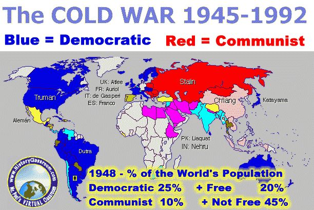 an introduction to the history of cold war and the united states The diplomatic tension of the cold war between the united states and the soviet union after wwii shaped  us history unit 9: cold war  unit introduction and .