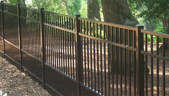 Benefits of Aluminum Fencing http://www.uk-rattanfurniture.com/product/4-piece-outdoor-rattan-effect-furniture-set-brown/