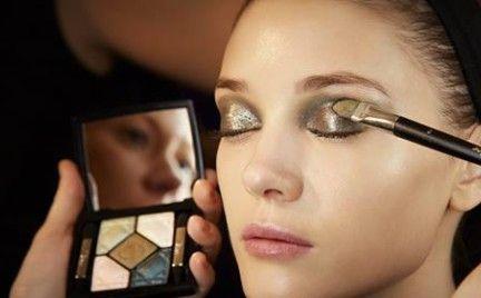 Makijaż z wybiegu: Dior