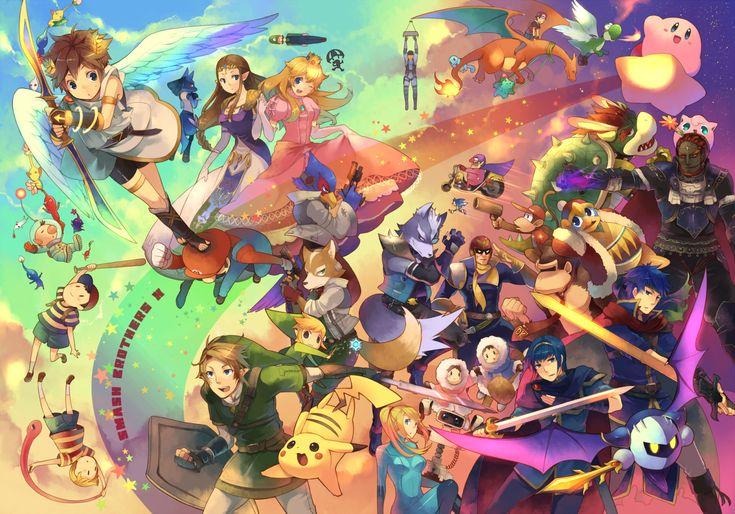 #SuperSmashBros Art