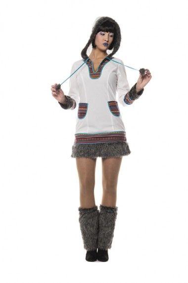 Eskimo Kostüm (Damen)