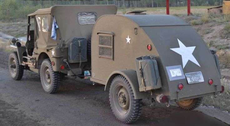 Innovative Camping Military Trailer