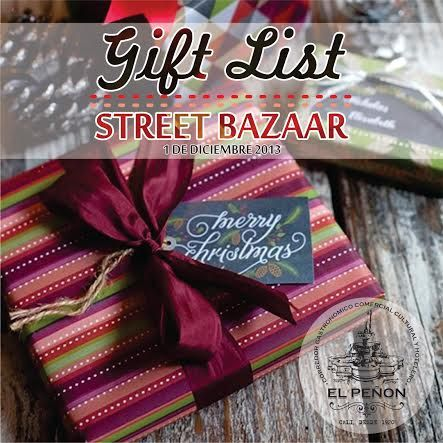 **STREET BAZAAR hoy en el Peñón! Ven con tu familia y amigos a disfrutar de un domingo lleno de música, comida, diseño y regalos!**