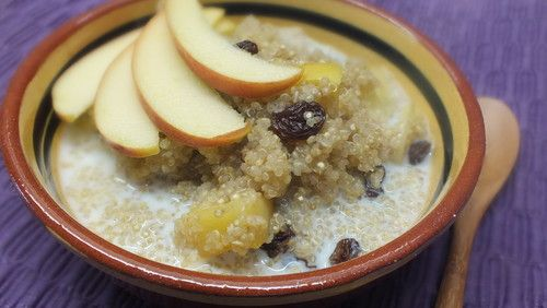 Powerfrühstück mit Quinoa
