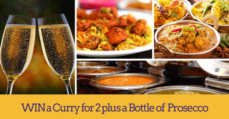 In our free to enter prize draw for April, you could win a delicious curry for two people plus a lovely bottle of Prosecco at Chef and Spice in Leicester! Click now to enter for free.
