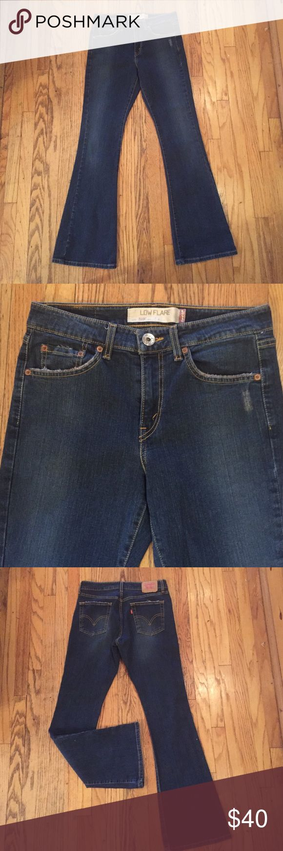 """Levi's 519 low flare, never worn! New, sits just below waist, 31"""" inseam Levi's Pants Boot Cut & Flare"""