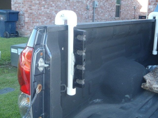 Blake recently fashioned up a rod holder for his truck bed that should work better than, well, nothing at all. He documented the process and was nice enough to share it with us. His workflow is bel…