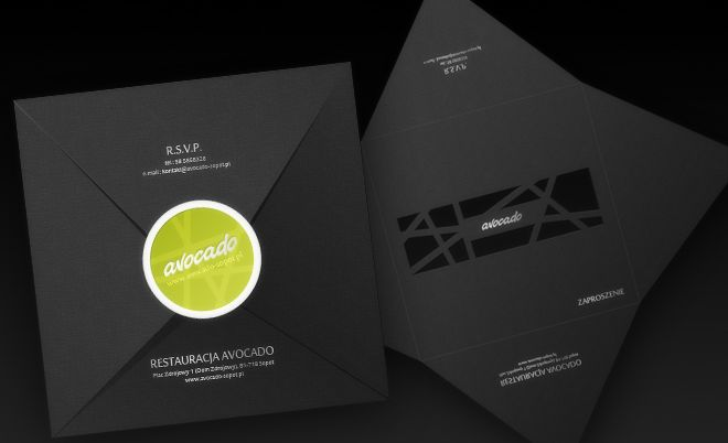 Avocado: Corporate identity - Jamel Interactive interactive agency Gdansk, Tricity
