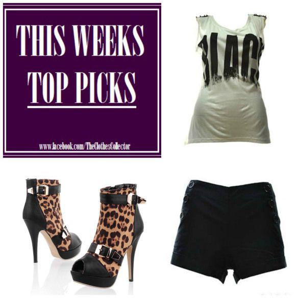 THIS WEEK'S TOP PICKS!