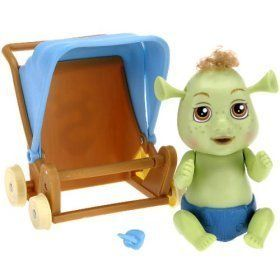 Shrek Out of Control Triplets Baby Boy with Stroller @ niftywarehouse.com #NiftyWarehouse #Shrek #Movies #Movie