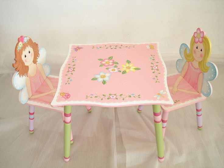 Girls Table And Chair Set & The 95 best Chair Sets images on Pinterest | Bistro set Mesas and ...
