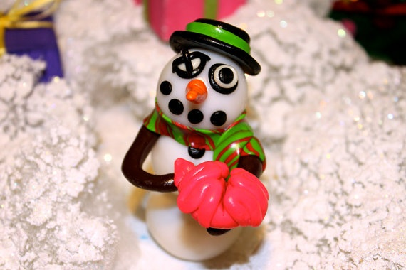 Mr Wright the Zombie Snowman by jessicarenahan on Etsy, $30.00