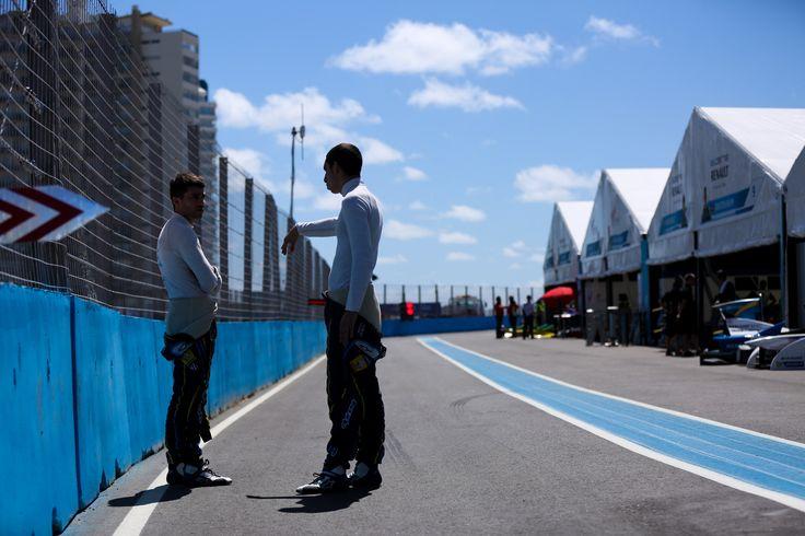 edams Renault FIA Formula e Punta Del Este  Nicolas Prost and Sebastien Buemi