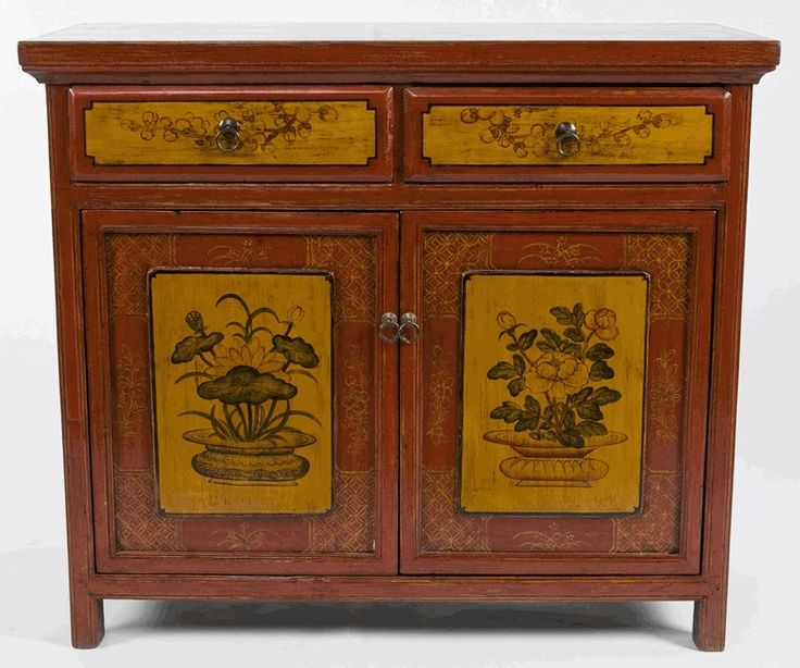 Antique Asian Furniture: Painted Buffet Cabinets from Qinghai Province,  China - 288 Best Chinese Furniture Images On Pinterest Chinese Furniture