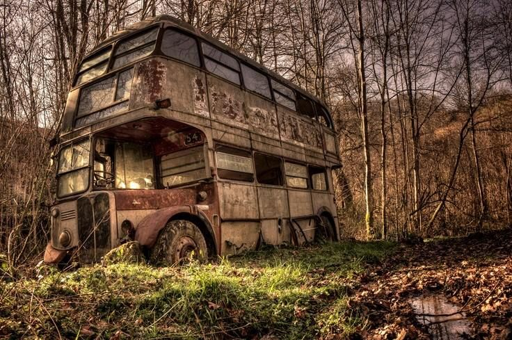 You catch the wrong night bus and wake up in a strange environment, 20 years later