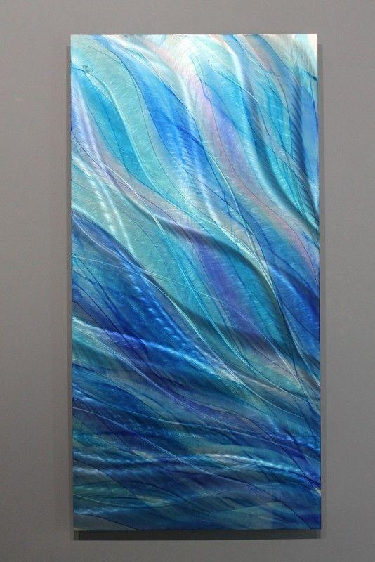 "Metal Abstract Modern Painting Wall Art Decor Sculpture ""Glory"" Jon Allen #Statements2000JonAllenMetalArt"