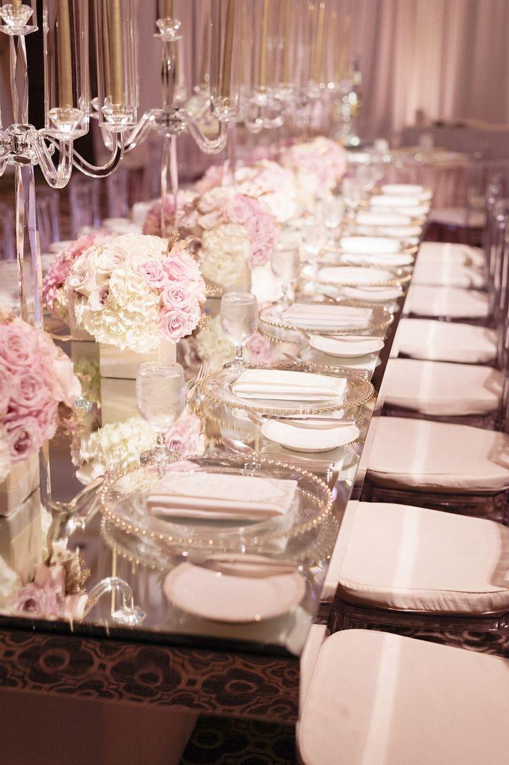 Blush Pink And White Wedding Rose Gold Inbaldror Gown