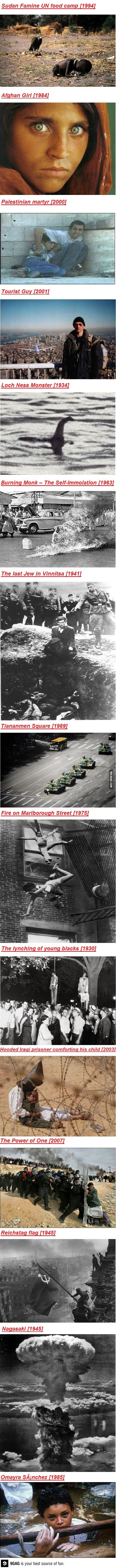 Some famous photos in history