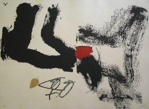 Fulla, Antoni Tapies -  1987 - etching, carborundum (edition 99) (56x76cm)