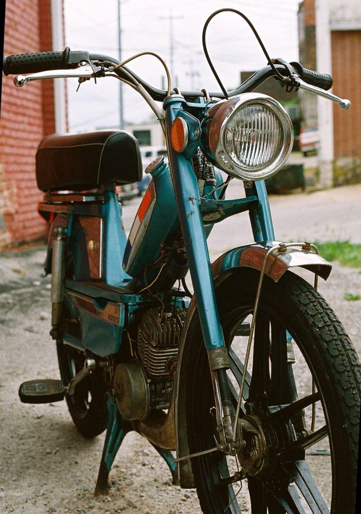 Motobecane 50v #Moped