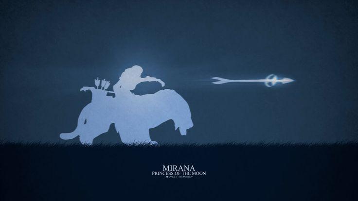Dota 2 - Mirana by sheron1030