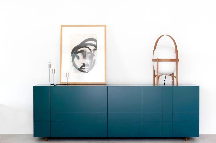 BLUE SIDEBOARD |  modern sideboard ideas  | bocadolobo.com/ #modernsideboard #sideboardideas