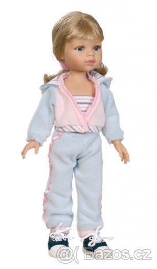 Realistická panenka  Carla sportovkyně - 1