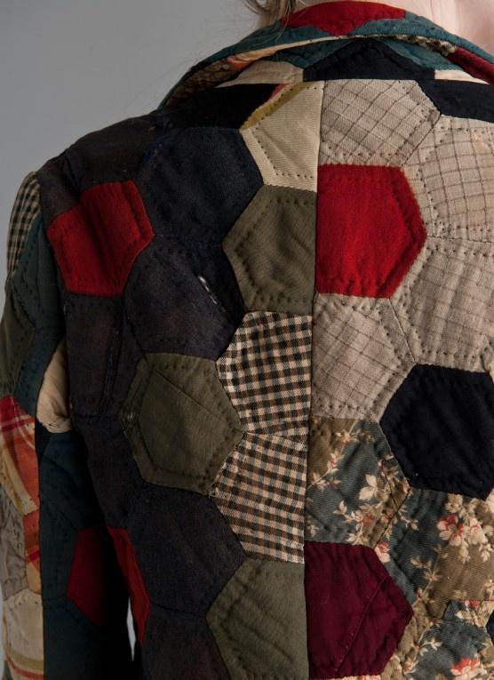 Quilt pattern-inspired Billy Reid jacket