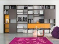 Libreria a parete componibilie modello Start - Parete