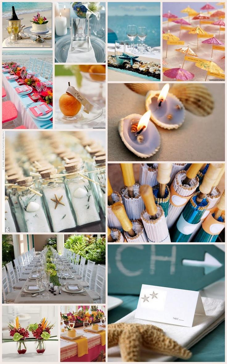 beach-y wedding