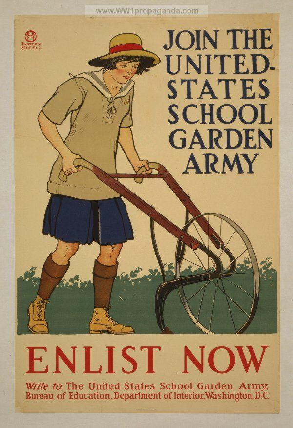 Examples of Propaganda from WW1 | American WW1 Propaganda Posters