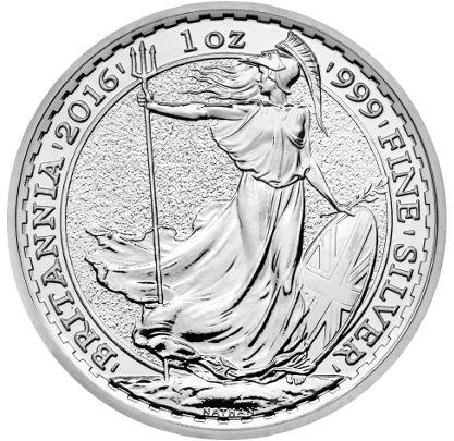Britannia 1oz Silver Bullion Coin