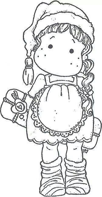 magnolia stamps coloring pages - photo#26
