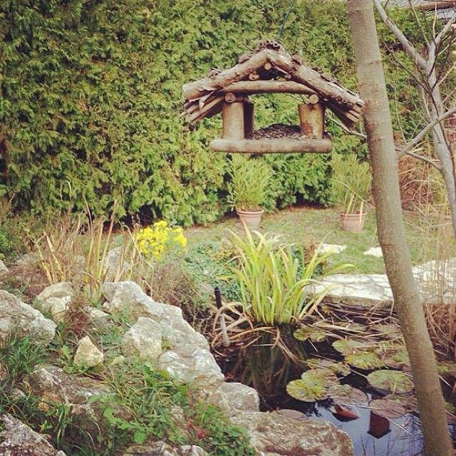 #wellness #garden #lake #birdhouse   Sárvár Nyírfa  Apartman kerti tó