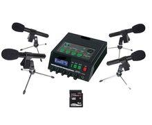 Martel DM246 Four Uni-Directional Microphone & Transcription Package