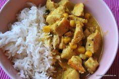 Currykyckling med kokosmjölk – Nadjaskitchen.se