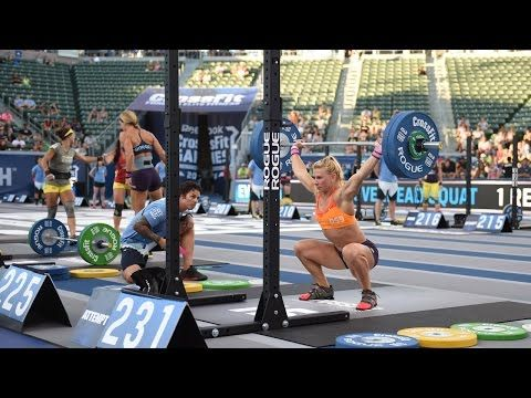 Rich Froning - Overhead Squat Challenge 255# x 15 |CrossFit 2014| - YouTube