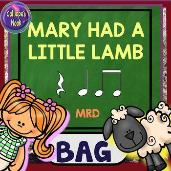 Mary Had a Little Lamb: beat, za ta ti-ti, bar lines