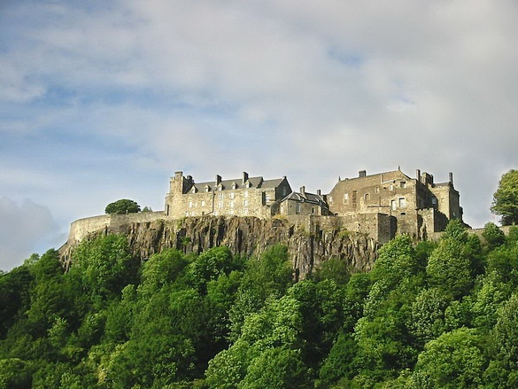Sterling Castle, Scotland, Braveheart country, beautiful!!