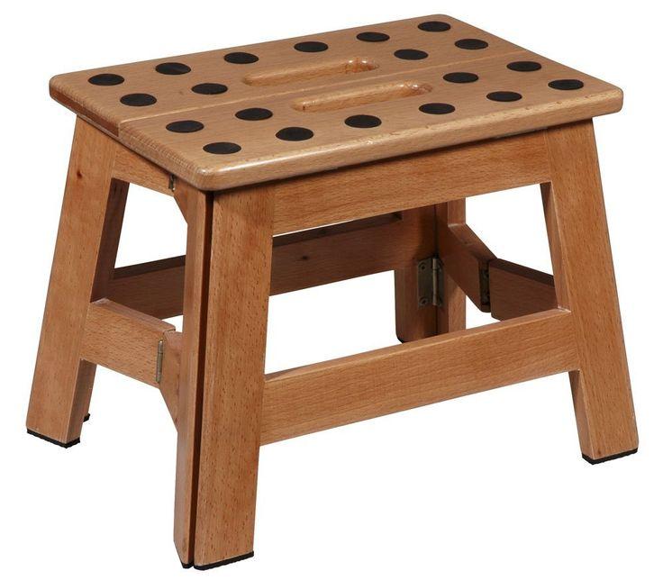 elegant puhlmann james tabouret pliant en bois amazonfr hygine et soins du corps with tabouret. Black Bedroom Furniture Sets. Home Design Ideas