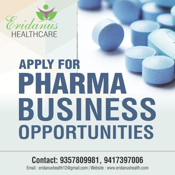 Welcome to Eridanus Healthcare, We are the leading pharmaceutical company in India which deals in Various Pharmaceutical Medicines. Associate with us and get the best business opportunities.  #TopPCDPharmaFranchiseCompany Company Highlights:  • ISO 9001:2008, WHO and GMP certified, • Offers wide range of Pharma products with assured quality • Quality Packaging • Promotional Backup Visit us: http://www.eridanushealth.com/ Email us: eridanushealth12@gmail.com