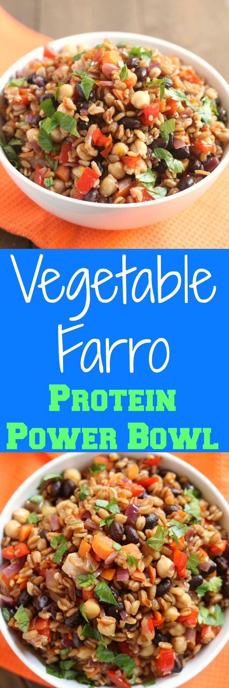 vegetable-farro-protein-power-bowl