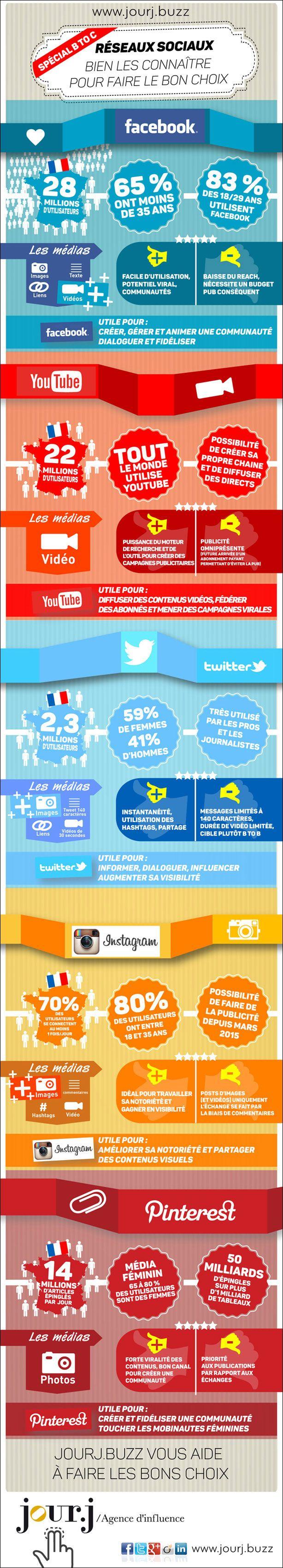 #infographie réseaux sociaux