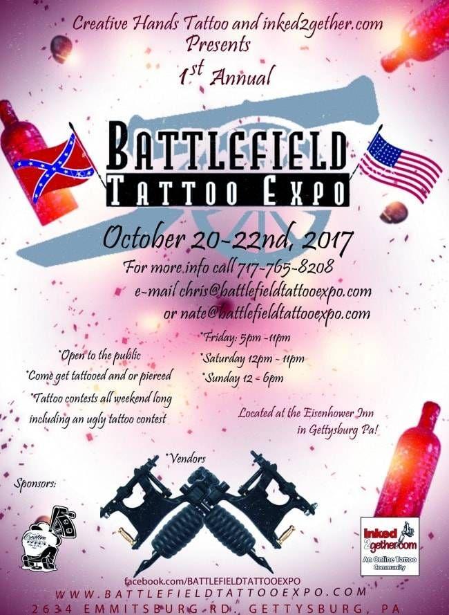 Battlefield Tattoo Expo | Tattoo Filter