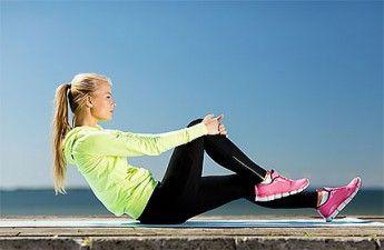 Телу — время! Комплекс упражнений для бёдер и живота :: Ekaterina.UA
